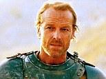 TV hunk: Iain Glen as Ser Jorah Mormont on Game of Thrones