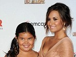 Sisters first: Demi, shown with younger sister Madison De La Garza in September 2011 in Santa Monica, California, said the thought of losing her sibling helped her turn her life around