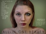 Anna Hill, a student at East Carolina University, created four self-portrait images for her final project Beauty Is Only Pixel Deep; and the mock ads show just how far digital editing can go