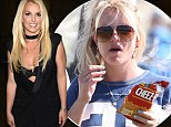 How does she stay so thin? Britney Spears demands Cheetos and cheeseburgers for her upcoming Las Vegas show