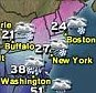 Here it comes!: A powerful winter storm will wallop the Northeast this weekend