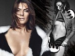 No wonder he sank his claws into her! Jake Gyllenhaal's gal Alyssa Miller shows off her incredible figure as she strips down and goes topless for racy new shoot
