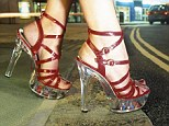 2,000 women took part in the survey, which found that women generally start to feel discomfort from their footwear three hours into a night out