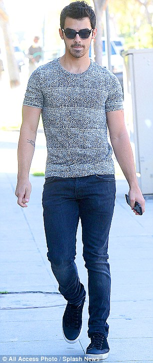 Going solo? Joe Jonas kept his shades on the day after the night of the gala