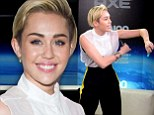 Miley Cyrus interrupts Z100 Jingle Ball backstage interview for shameless deodorant sponsor plug