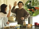 'He has quite a comedic streak': Harry Styles crashes parents' lawn mower in clip from One Direction: This Is Us DVD