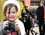 Stepping out: Pregnant Rachel Zoe enjoyed an afternoon of shopping with her entertaining two-year-old son Skyler on Friday in Beverly Hills