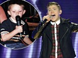Fears grow for Nicholas McDonald and his heart condition ahead of X Factor final... as his family show off adorable childhood photos of young singer