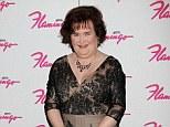 Fears: Susan Boyle was due to appear on the Jonathan Ross Show but it was cancelled