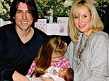 Amanda is blissfully happy and looking forward to Christmas with her husband, record producer Chris Hughes, and her two daughters, Lexi, seven, and Hollie, who'll be two in January