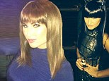 Wigging out: TOWIE sisters Sam and Billie Faiers look unrecognisable in their wigs at themed Christmas party
