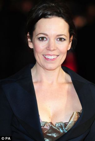 Confession: Olivia Colman admits she eats a bit too much, her teeth aren't perfect and she has eye bags