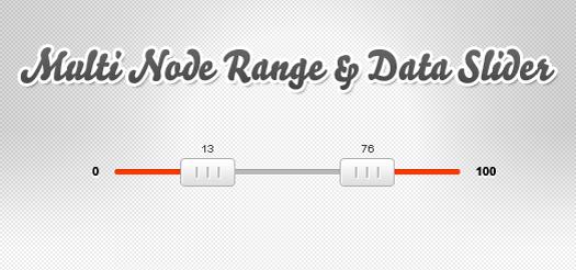 Free Multi-Node Range and Data Slider JQ Slider