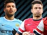 Title fight: Manchester City host Arsenal at the Etihad Stadium