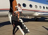 Flying in style: The new series, titled #Rich Kids of Beverly Hills, will premiere January 19 on E!