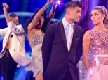 Even Craig couldn't criticise! Natalie Gumede's sizzling salsa takes her joint top of the leaderboard alongside Abbey Clancy in Strictly Come Dancing semi-final