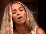 Bikini babe: Beyonce shows off her body in another video - Blue - from her brand new self-titled album