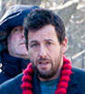 Wrapped up: Adam Sandler out Filming The Cobbler in New York