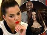 Split will be on TV: Khloe Kardashian and Lamar Odom divorce 'is explored on next season's Keeping Up With The Kardashians which debuts in WEEKS'