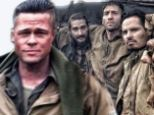 Brad Pitt, Shia LaBeouf and the cast of Fury get down and dirty on Oxfordshire set in director's behind-the-scenes Twitter pictures