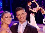 'I'll see you next week in the final': Abbey Clancy wows Strictly judges with prom-themed American Smooth in flurry of pink sequins