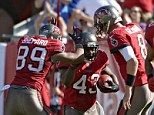 Victory: The Tampa Bay Buccaneers were too strong for the Buffalo Bills in an easy win