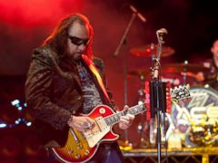 PHOTO: Ace Frehley performs at Detroit Riverfront in Detroit, Michigan, July 27, 2012.