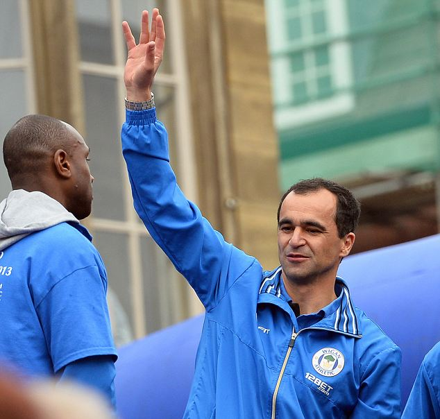 Crunch time: Will Roberto Martinez wave goodbye to Wigan in the summer?