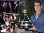 Big winner: Andy Murray with his Sports Personality of the Year