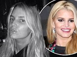 Bare-faced beauty! Jessica Simpson goes au naturale for date night