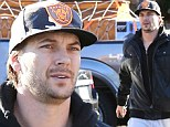 Kevin Federline out shopping
