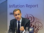 Divided: A gap is emerging between Mark Carney's forward guidance and what economists say will happen to interest rates.