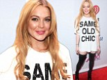 Need a new stylist? Lindsay Lohan looked like she wasn't wearing trousers as she attended Z100s Jingle Ball 2013, presented by Aeropostale, at Madison Square Garden in New York City on Friday