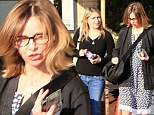 Calista Flockhart shopping with friend