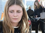 A long way from The OC: a make-up free Mischa Barton is a casual customer at a Los Angeles gas station