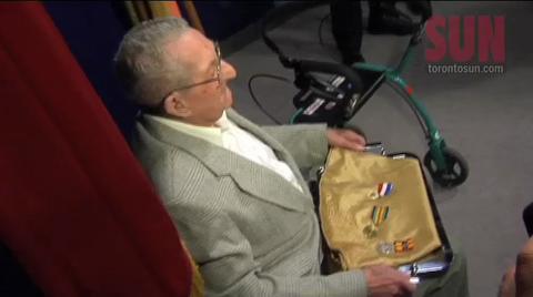 Precious medals returned to veteran