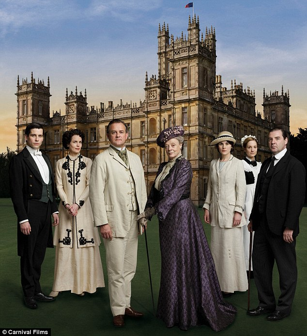 Global hit: Downton Abbey has gone from strength to strength since its launch in 2010