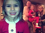 She's growing up fast! Jamie Lynn Spears' adorable daughter Maddie, five, steals the show in family Christmas picture
