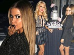 Carmen Electra 'Werqs' a little black dress at the launch of her new single