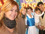 Ellen Pompeo and husband treat their daughter Stella, four, to a day at Disney On Ice but they seem to be having all the fun