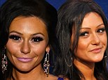 J Woww's changing face