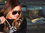 FIRST LOOK! Khloé Kardashian spotted out with rumoured beau Matt Kemp on the same day she files for divorce from Lamar Odom
