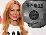 Is Lindsay working with Kate Moss' husband? Lohan shares snap of The Kills' album Satellite while working in the studio