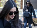 Washing that man right out of her hair! Demi Moore gets over divorce by going for pamper session at Hollywood hair salon
