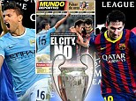 Bring on the big boys! City v Barcelona and Arsenal v Bayern in Champions League (plus Drogba returns to take on Chelsea)