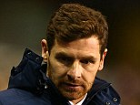 Out: Tottenham Hostpur manager Andre Villas-Boas was sacked following the 5-0 defeat to Liverpool