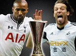 Spurs and Swansea find out who they will face in the last 32 of the Europa League