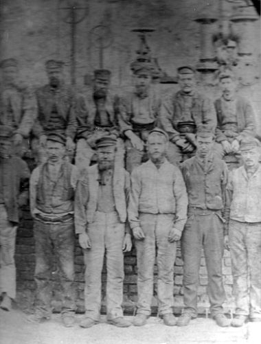 Haswell Colliery miners.