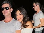 Pec-tacular! Simon Cowell leaves pregnant girlfriend Lauren Silverman in the shade by showing off his pumped chest