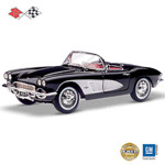 1:18 Legendary 1961 Corvette Diecast Car - Legendary 1961 Corvette® 1:18 Collectible Scale Classic Car Diecast Ready to Roar into Your Home! Limited to 5,000!